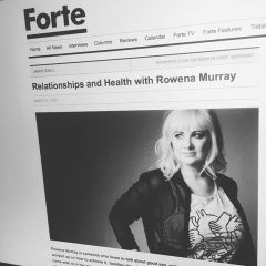 Row Murray For Foxes Sake Rowena Murray Forte Mag